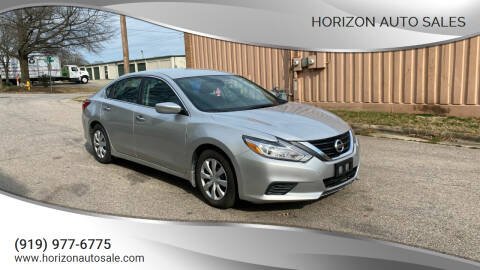 2016 Nissan Altima for sale at Horizon Auto Sales in Raleigh NC