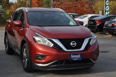 2015 Nissan Murano for sale at Amati Auto Group in Hooksett NH