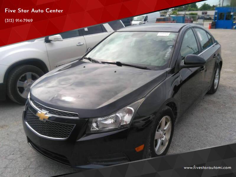2014 Chevrolet Cruze for sale at Five Star Auto Center in Detroit MI