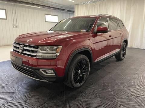 2019 Volkswagen Atlas for sale at Monster Motors in Michigan Center MI