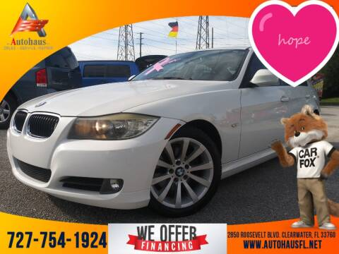 2011 BMW 3 Series for sale at Das Autohaus Quality Used Cars in Clearwater FL