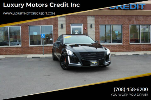 2015 Cadillac CTS for sale at Luxury Motors Credit Inc in Bridgeview IL