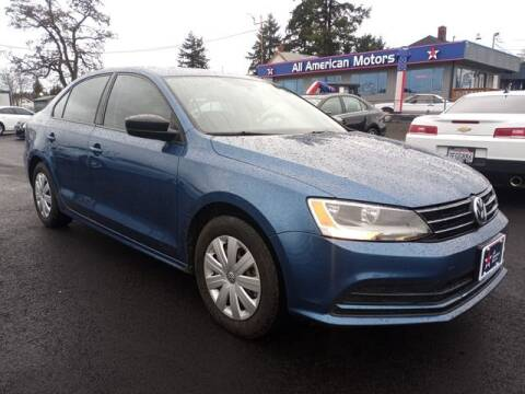 2016 Volkswagen Jetta for sale at All American Motors in Tacoma WA