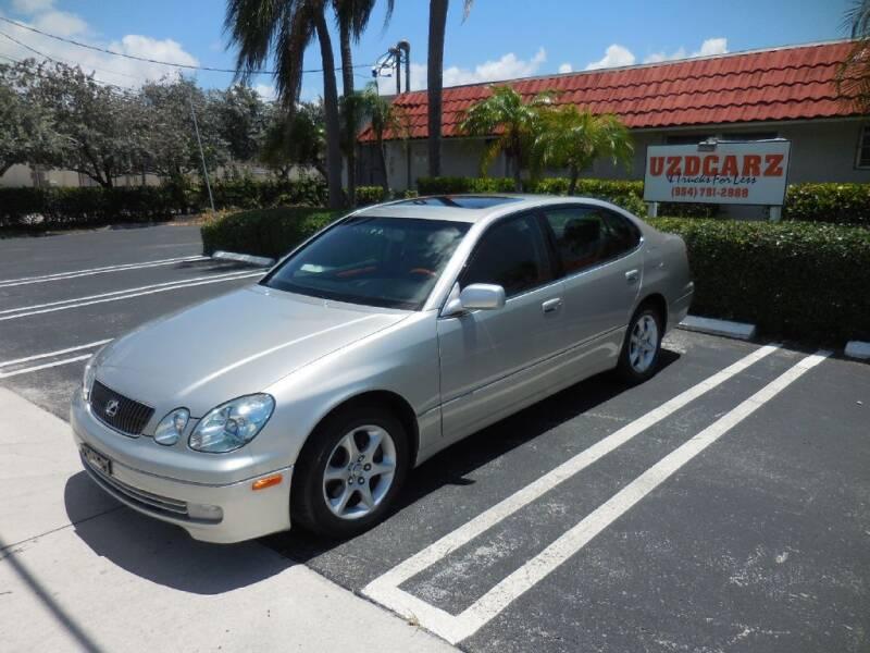 2003 Lexus GS 430 for sale at Uzdcarz Inc. in Pompano Beach FL
