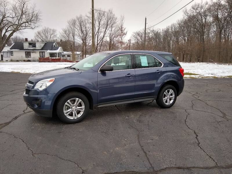 2014 Chevrolet Equinox for sale at Depue Auto Sales Inc in Paw Paw MI