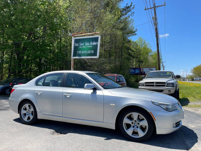 2008 BMW 5 Series for sale at East Coast Auto Brokers in Chesapeake VA