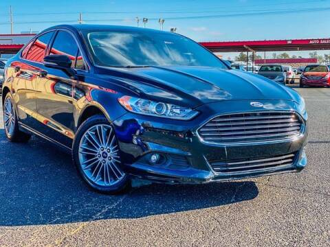 2014 Ford Fusion for sale at MAGNA CUM LAUDE AUTO COMPANY in Lubbock TX