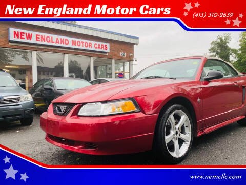 2003 Ford Mustang for sale at New England Motor Cars in Springfield MA
