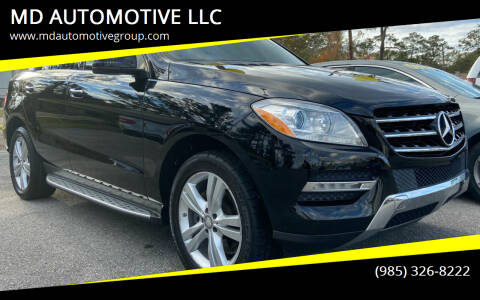 2013 Mercedes-Benz M-Class for sale at MD AUTOMOTIVE LLC in Slidell LA