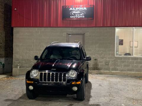 2003 Jeep Liberty for sale at Alpha Motors in Chicago IL