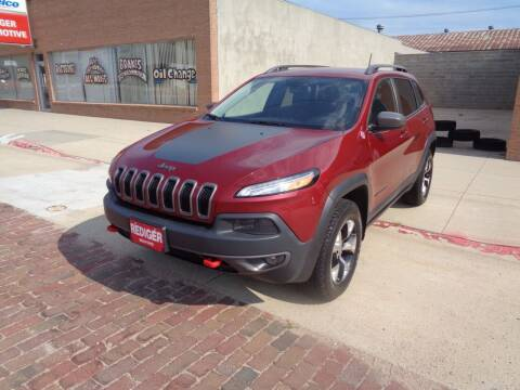 2016 Jeep Cherokee for sale at Rediger Automotive in Milford NE