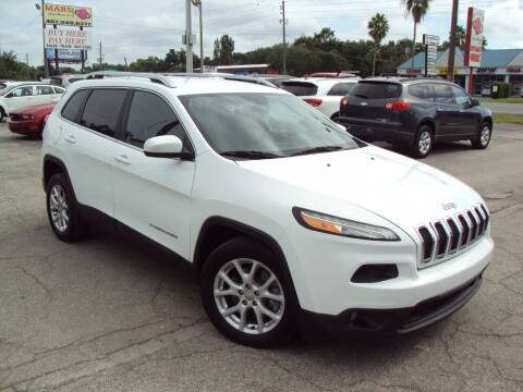 2014 Jeep Cherokee for sale at Mars auto trade llc in Kissimmee FL
