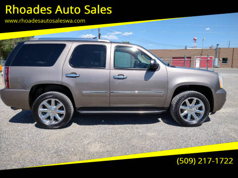 2012 GMC Yukon for sale at Rhoades Auto Sales in Spokane Valley WA