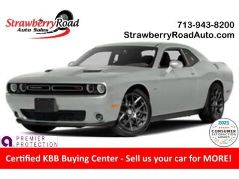2016 Dodge Challenger for sale at Strawberry Road Auto Sales in Pasadena TX