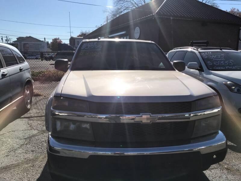 2008 Chevrolet Colorado for sale at Chambers Auto Sales LLC in Trenton NJ