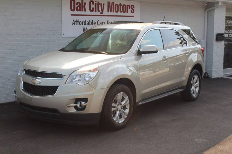 2014 Chevrolet Equinox for sale at Oak City Motors in Garner NC