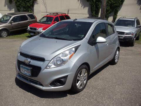 2014 Chevrolet Spark for sale at Metro Motor Sales in Minneapolis MN