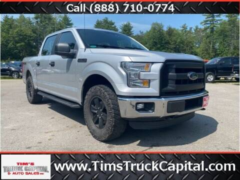 2016 Ford F-150 for sale at TTC AUTO OUTLET/TIM'S TRUCK CAPITAL & AUTO SALES INC ANNEX in Epsom NH