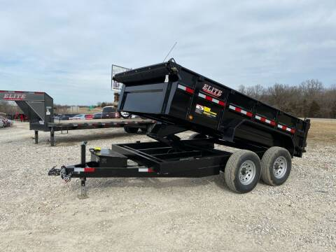 """2021 Elite 83""""x12' 14K Dump Traielr for sale at Ken's Auto Sales & Repairs in New Bloomfield MO"""