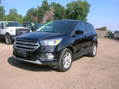 2017 Ford Escape for sale at HORSEPOWER AUTO BROKERS in Fort Collins CO