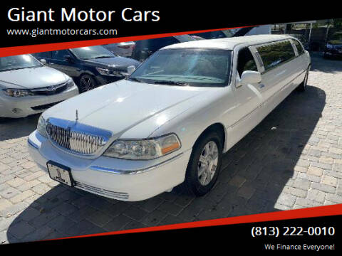 2007 Lincoln Town Car for sale at Giant Motor Cars in Tampa FL