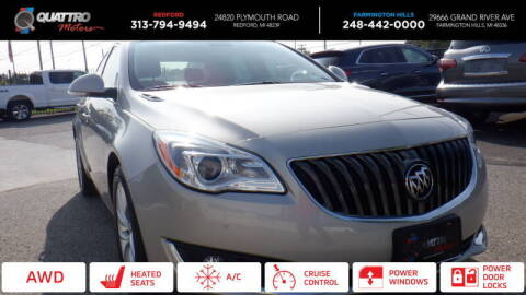 2016 Buick Regal for sale at Quattro Motors 2 - 1 in Redford MI