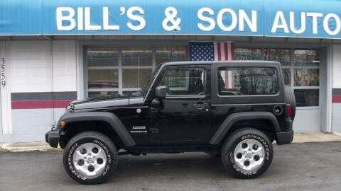 2014 Jeep Wrangler for sale at Bill's & Son Auto/Truck Inc in Ravenna OH