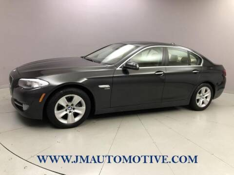 2012 BMW 5 Series for sale at J & M Automotive in Naugatuck CT