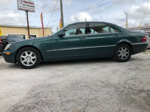2000 Mercedes-Benz S-Class for sale at Mego Motors in Orlando FL