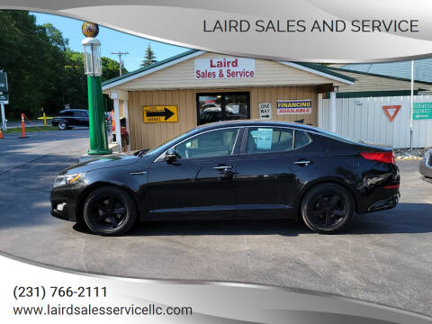 2014 Kia Optima for sale at LAIRD SALES AND SERVICE in Muskegon MI