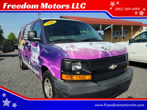 2008 Chevrolet Express Cargo for sale at Freedom Motors LLC in Knoxville TN