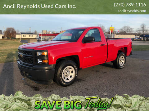 2014 Chevrolet Silverado 1500 for sale at Ancil Reynolds Used Cars Inc. in Campbellsville KY