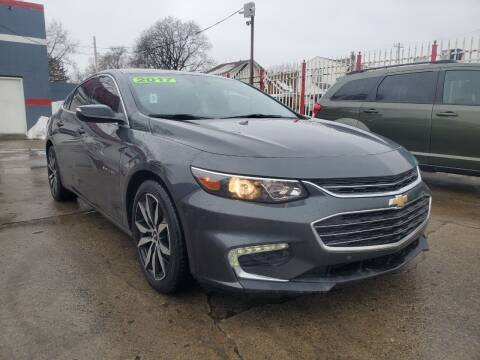 2017 Chevrolet Malibu for sale at Julian Auto Sales, Inc. - Number 1 Car Company in Detroit MI