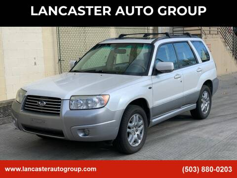 2008 Subaru Forester for sale at LANCASTER AUTO GROUP in Portland OR