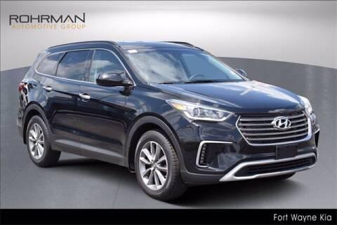 2018 Hyundai Santa Fe for sale at BOB ROHRMAN FORT WAYNE TOYOTA in Fort Wayne IN