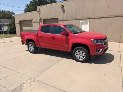 2016 Chevrolet Colorado for sale at McPherson Car Connection LLC in Mcpherson KS