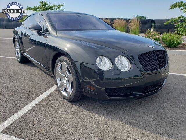 2004 Bentley Continental for sale at INDY LUXURY MOTORSPORTS in Fishers IN