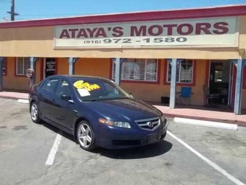 2005 Acura TL for sale at Atayas Motors INC #1 in Sacramento CA