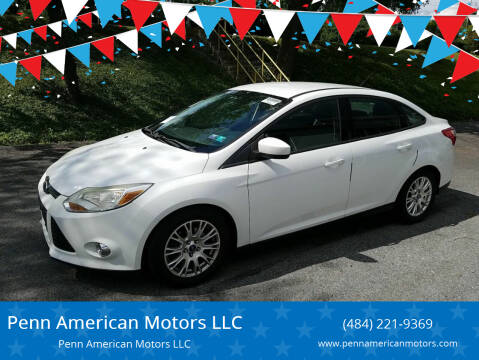 2012 Ford Focus for sale at Penn American Motors LLC in Allentown PA