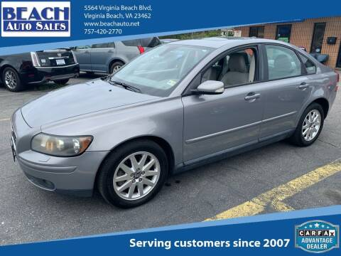 2006 Volvo S40 for sale at Beach Auto Sales in Virginia Beach VA