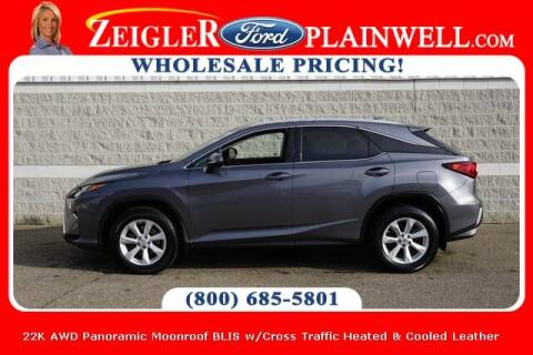 2017 Lexus RX 350 for sale at Zeigler Ford of Plainwell- michael davis in Plainwell MI