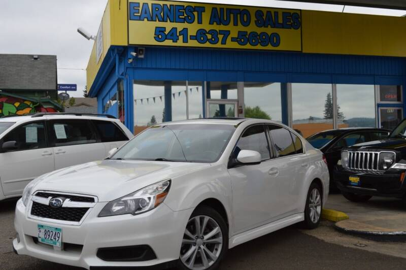 2014 Subaru Legacy for sale at Earnest Auto Sales in Roseburg OR