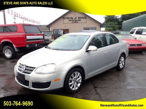 2010 Volkswagen Jetta for sale at Steve & Sons Auto Sales in Happy Valley OR