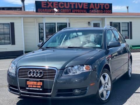 2005 Audi A4 for sale at Executive Auto in Winchester VA