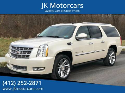 2013 Cadillac Escalade ESV for sale at JK Motor Cars in Pittsburgh PA