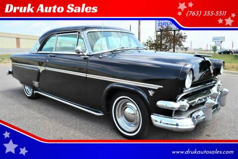 1954 Ford Crestline for sale at Druk Auto Sales in Ramsey MN