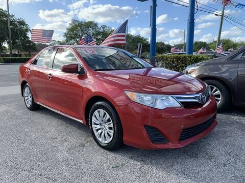 2012 Toyota Camry for sale at AUTO PROVIDER in Fort Lauderdale FL