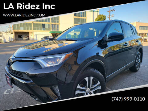 2018 Toyota RAV4 for sale at LA Ridez Inc in North Hollywood CA