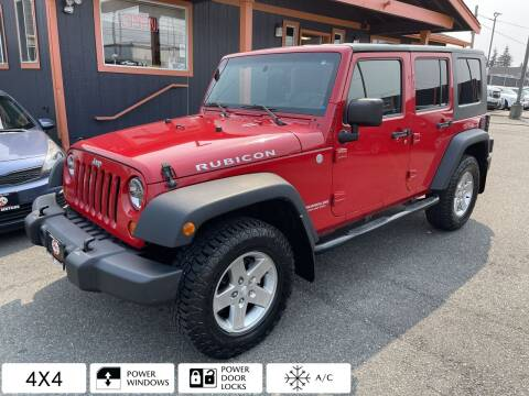 2010 Jeep Wrangler Unlimited for sale at Sabeti Motors in Tacoma WA