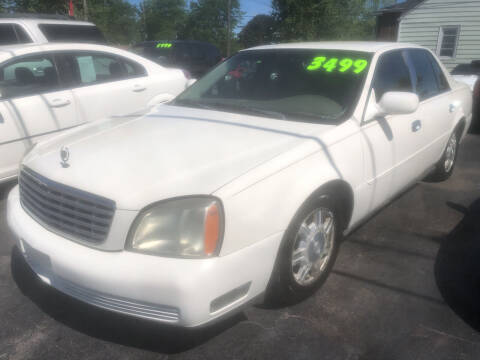2004 Cadillac DeVille for sale at Trinity Motors in Lackawanna NY